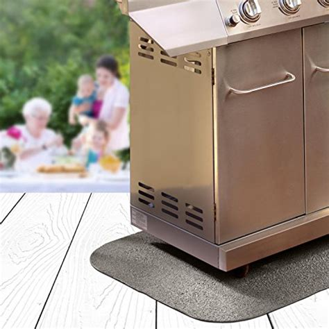 the original grill pad gray grill pad rectangle home