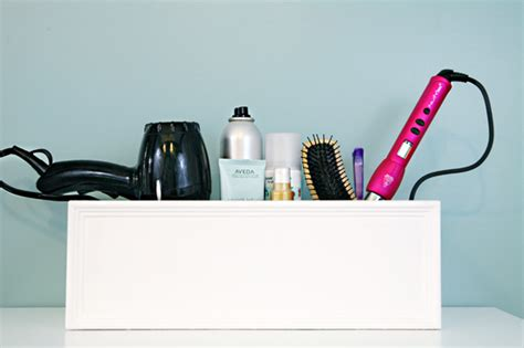 Diy Hair Dryer Caddy 16 clever ways to organize hair styling tools