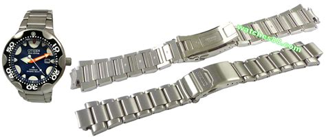 watches88. Genuine Titanium bracelet for Citizen Promaster Diver?s BN0015 & BN0016 Code: 59 S02374