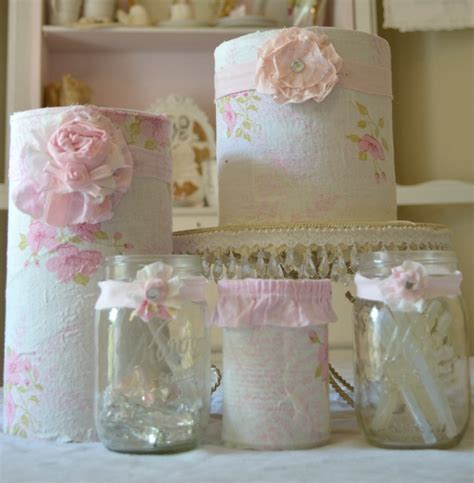 olivia s romantic home shabby craft room recycled coffee can tutorial