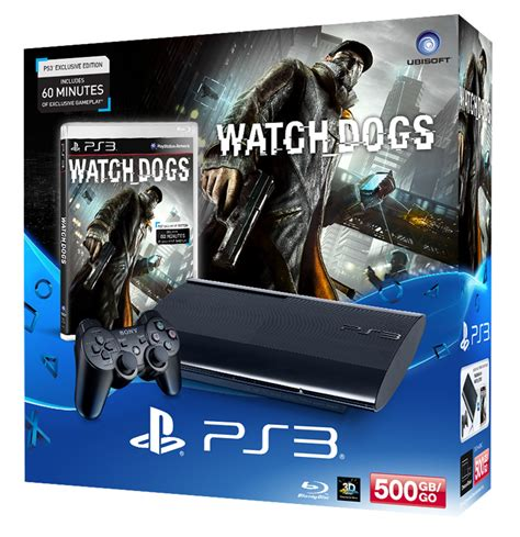 Bd Ps3 Kaset Watchdogs dogs ps4 ps3 bundles confirmed for europe playstation 4 playstation 3 news at