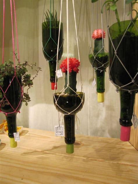 Wine Bottle Planter Diy by 25 Best Ideas About Wine Bottle Planter On
