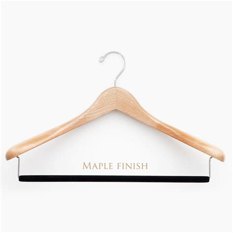 photo hanger luxury wooden suit hangers from the hanger project