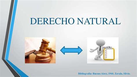el derecho natural