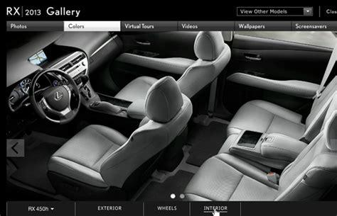 Lexus Rx 350 Saddle Interior by Build A New 2013 Lexus Rx Peterson Lexus
