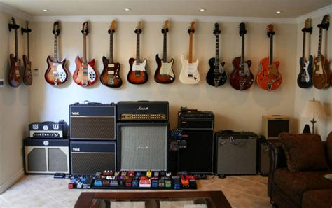 guitar room ideas that s a lot of guitars clint and jason s room things my family would like