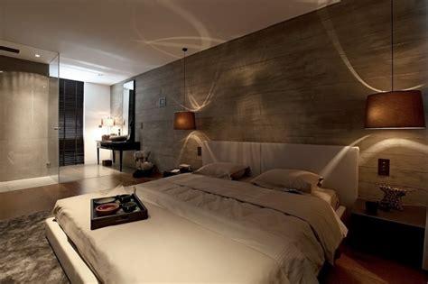 idees pour decorer une chambre  coucher masculine
