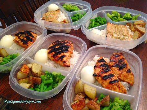 beyond my thoughts sunday meal prep