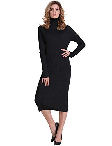 Xl Jumbo Bigsize Maxi Longdress Gamis Dress Wanita Slit Blouse prettyguide slim fit ribbed turtleneck maxi knit jumper dress black l apparel