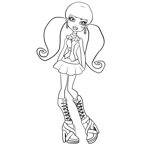 monster high coloring pages to play monster high coloring pages we luv dolls