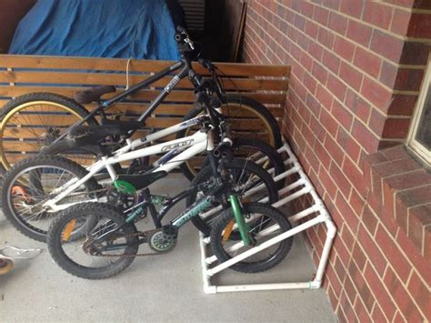 Pvc Bike Rack For by Best Space Saving Bike Rack Solutions The Owner Builder