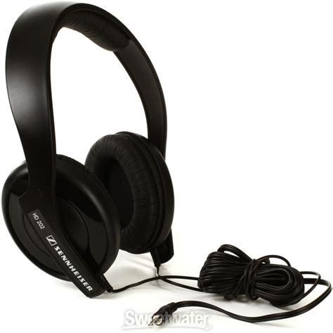 Sennheiser Hd 202 sennheiser hd 202 ii lightweight closed back on ear headphones sweetwater