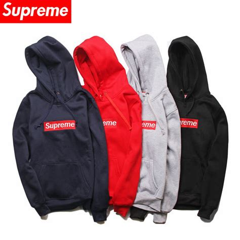 supreme clothing for sale supreme gray on bogo hoodie sweatshirt new ebay