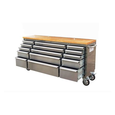 tool benches garage 1 8m garage workbench tool chest trolley