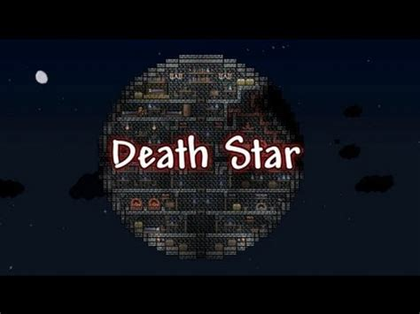 How To Find Blueprints Of Your House terraria housing star wars death star youtube