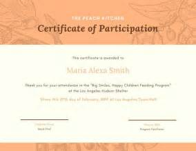 template for certificate of participation in workshop minimalist conference attendance certificate templates