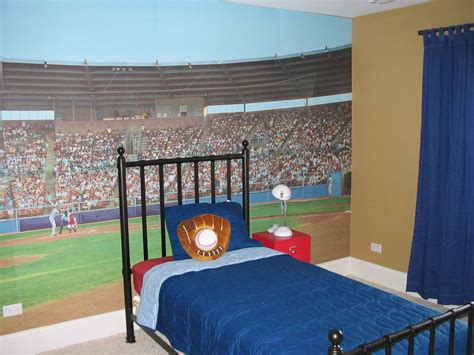 baseball themed bedrooms ideas for a kids baseball room room decorating ideas