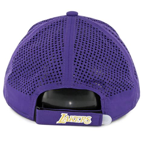 Authentic Los Angeles Lakers New Era 9forty Cap new era 9forty los angeles lakers performance pivot two