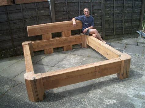 wooden platform bed plans bed frame plan outdoor