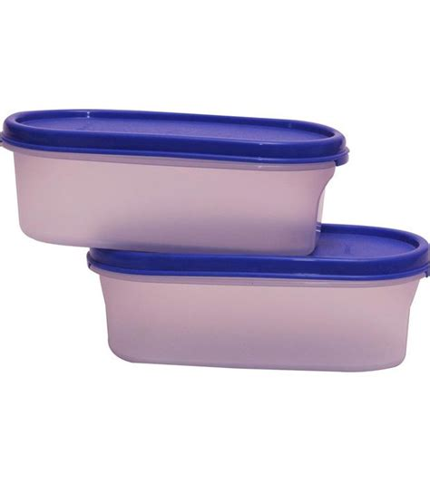 Tupperware Modular Set tupperware modular mate oval container set 2 pcs buy at best price in india snapdeal