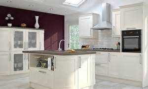 Wren Kitchen Cabinets by Wren Kitchens Shaker Alabaster Timber Kitchen