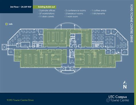 Eastgate Mall Floor Plan | astrazeneca 4575 eastgate mall 9360 9390 towne centre