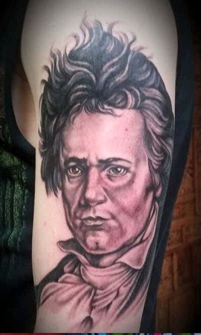 tattoo shops greenville nc ludwig beethoven by leif hansen tattoonow