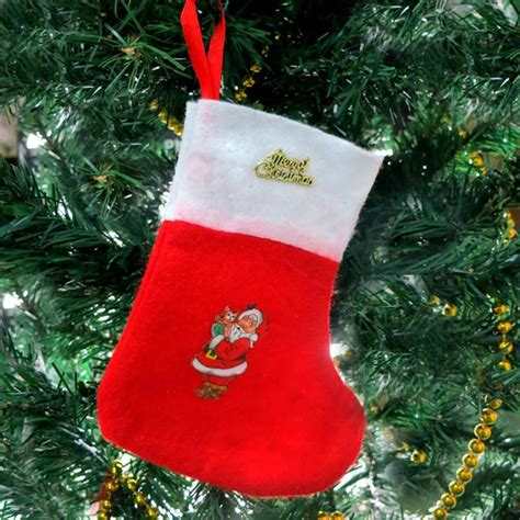 hot sale cheap christmas stocking for christmas tree