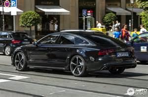 Black 2012 Mustang Audi Rs7 Sportback 4 September 2014 Autogespot