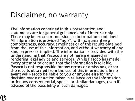 warranty statement template pasoco itsmf spmi pdpa 140626