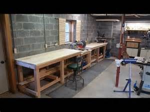 How To Build A Garage Workshop How To Build A Professional Style Workbench Diy Amp Home