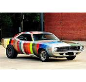 The Real Story Behind Color Chip Cuda  Dodge