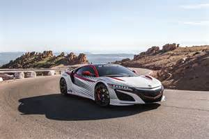 Hill Acura Gallery Acura Nsx Pace Car At The 2015 Pikes Peak Hill