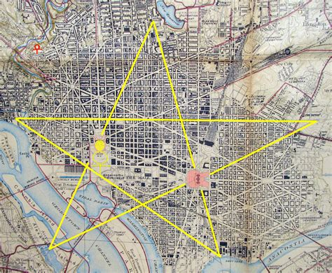 washington dc map masonic freemasons history in america symbols structures and