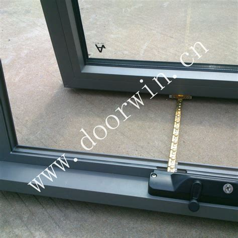awning window winders double glazing aluminum chain winder awning window for
