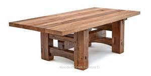 Timber Dining Table Frame Timber Frame Dining Table Salvaged Barn Wood Rustic
