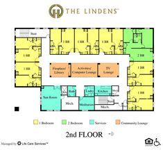 assisted living facility floor plans gallery for gt assisted living facilities floor plans one