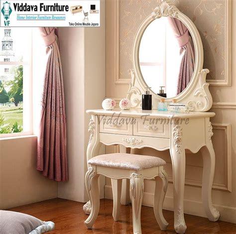 Set Meja Rias set meja dan kursi rias ukir jual lemari pakaian kayu jati mahoni