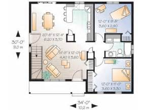 small floor plan get small house get small house plans two bedroom house