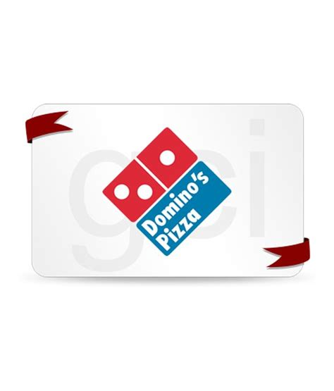 Dominoes Gift Card - buy domino s pizza gift card online on snapdeal
