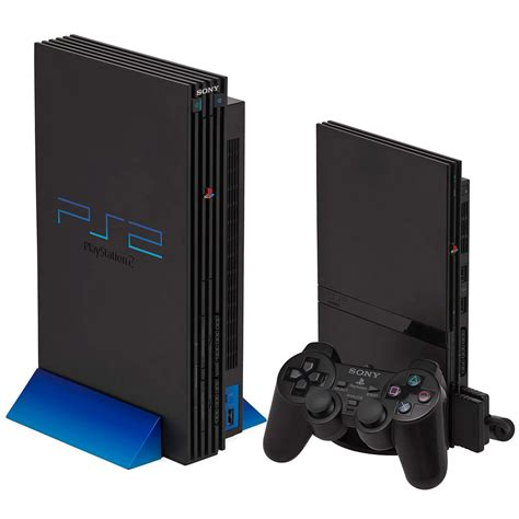 amazon console sony ps2 slimline console black ps2 amazon co uk pc