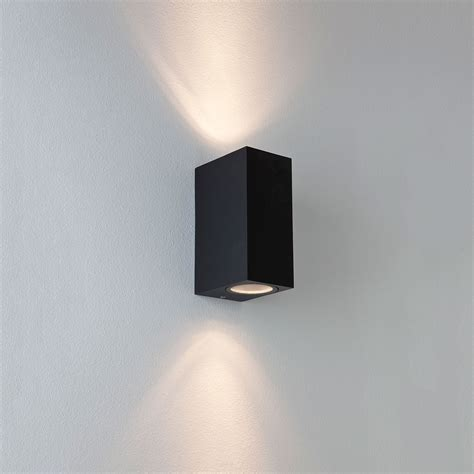 black exterior wall lights astro chios 150 black outdoor wall light at uk electrical