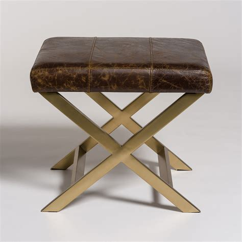 Hudson Ottoman Hudson Cross Ottoman Alder Tweed Furniture