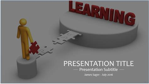 template powerpoint learning learn powerpoint template 4375 free learn powerpoint