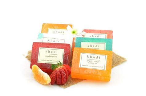 Handmade Soaps India - khadi assorted handmade soaps indian fruit nourish