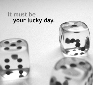 Today Is Your Lucky Day by Home Softflair