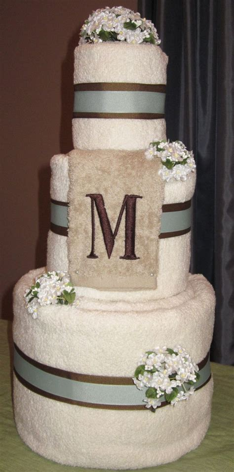 Bridal Shower Towel Cake by 105 Best Images About Towel Cakes On Wedding