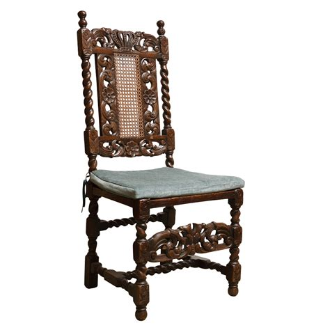 Set Of Six Antique Caned Dining Chairs On Antique Row Caned Dining Chairs