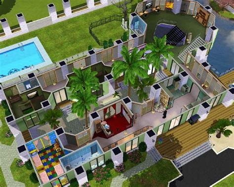 best sim house designs sims 3 pool layouts best layout room