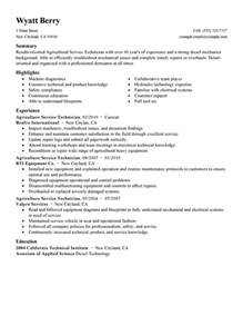 Resume No Job Experience by Best Service Technician Resume Example Livecareer